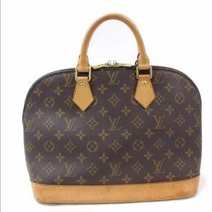 Authentic Louis Vuitton Monogram Alma purse Bag